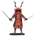 budo samurai warrior action figure material