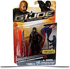 Cobra Commander Black Outfit Gi Joe Retaliation
