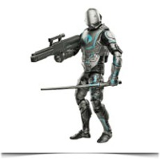Discount Cyber Ninja Action Figure