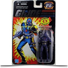 Save Gi Joe 25TH Anniversary Cobra Commander