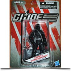 Gi Joe Exclusive Cobra Commader Leader
