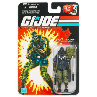 G. I. Joe 25TH Anniversary Wave 8 - Arctic Trooper Snake Eyes Action Figure