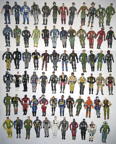 Lot G. I. Joe Vs Cobra 10X Pcs Figures Set With Weapons