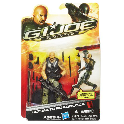 G. I. Joe Roadblock 3. 75 Action Figure